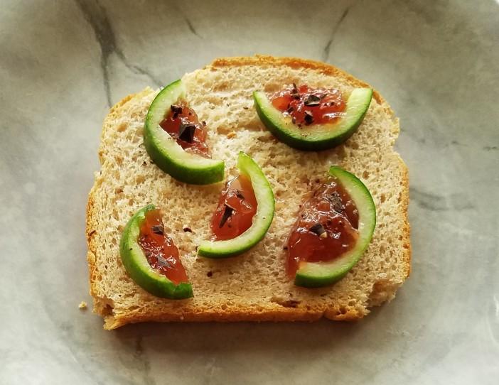 Creative Cucumbers on Bread 20200805_134044 (2)